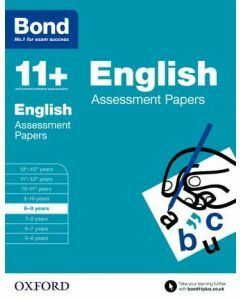 Bond 11+: English Assessment Papers for 8 to 9 years