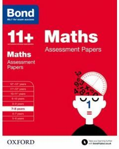 Bond 11+: Maths Assessment Papers for 7 to 8 years
