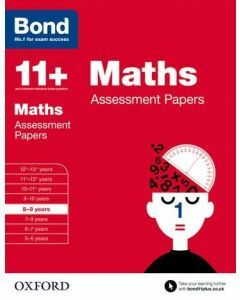 Bond 11+: Maths Assessment Papers for 8 to 9 years