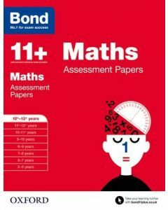 Bond 11+: Maths Assessment Papers for 12 to 13+ years [Temporary Out of Stock - due mid-Oct 2020]