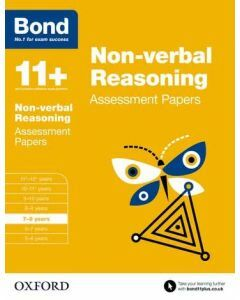 Bond 11+: Non-verbal Reasoning Assessment Papers for 7 to 8 years