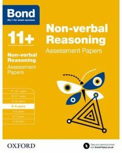 Bond 11+: Non-verbal Reasoning Assessment Papers for 8 to 9 years