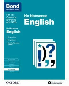 Bond: English: No Nonsense for 6 to 7 years