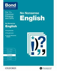 Bond: English: No Nonsense for 7 to 8 years