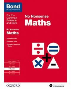 Bond: Maths: No Nonsense for 7 to 8 years