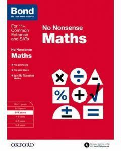 Bond: Maths: No Nonsense for 8 to 9 years