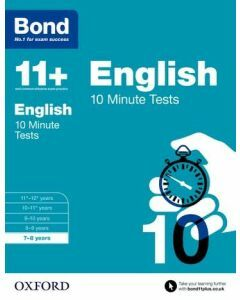 Bond 11+: English: 10 Minute Tests for 7 to 8 years