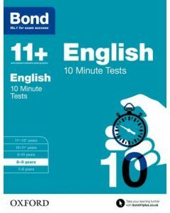 Bond 11+: English: 10 Minute Tests for 8 to 9 years