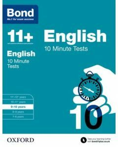 Bond 11+: English: 10 Minute Tests for 9 to 10 years
