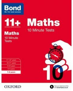 Bond 11+: Maths: 10 Minute Tests for 7 to 8 years