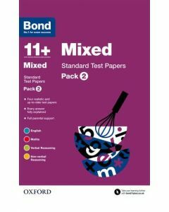 Bond 11+: Mixed: Standard Test Papers: Pack 2