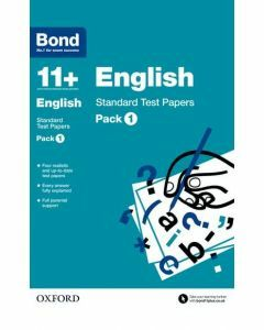 Bond 11+: English: Standard Test Papers Pack 1