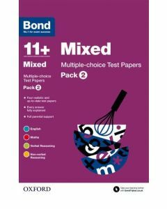 Bond 11+: Mixed: Multiple-choice Test Papers Pack 2