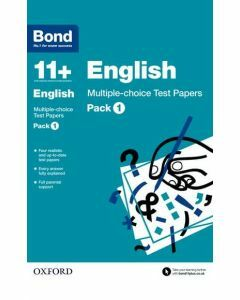 Bond 11+: English: Multiple-choice Test Papers Pack 1
