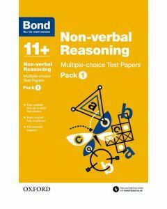 Bond 11+: Non-verbal Reasoning: Multiple-choice Test Papers Pack 1