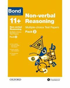 Bond 11+: Non-verbal Reasoning: Multiple-choice Test Papers Pack 2