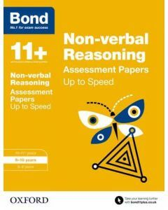 Bond 11+: Non-verbal Reasoning: Up to Speed Practice for 9 to 10 years