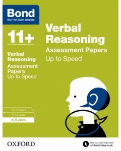 Bond 11+: Verbal Reasoning: Up to Speed Practice for 8 to 9 years