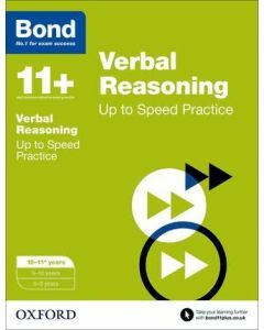 Bond 11+: Verbal Reasoning: Up to Speed Practice for 10 to 11+ years