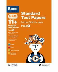 Bond 11+: CEM: Standard Test Papers Pack 1