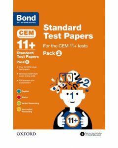 Bond 11+: CEM: Standard Test Papers Pack 2