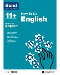 Bond 11+: How to Do English