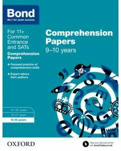 Bond 11+: English: Comprehension Papers for 9 to 10 years