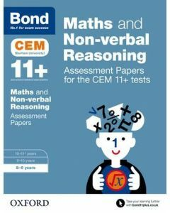 Bond 11+: Maths and Non-verbal Reasoning: Assessment Papers for CEM for 8 to 9 years