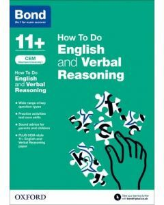 Bond 11+: CEM How to Do English and Verbal Reasoning