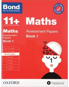 Bond 11+: Maths Assessment Papers for 10-11 yrs Book 1 (2020 Edition)