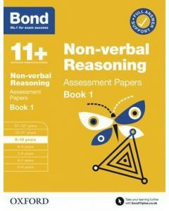 Bond 11+: Non-verbal Reasoning Assessment Papers for 9-10 yrs Book 1 (2020 Edition)