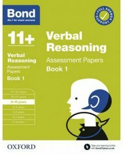 Bond 11+: Verbal Reasoning Assessment Papers for 9-10 yrs Book 1 (2020 Edition)