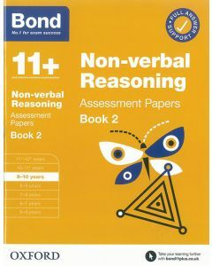 Bond 11+: Non-verbal Reasoning Assessment Papers for 9-10 yrs Book 2 (2020 Edition)