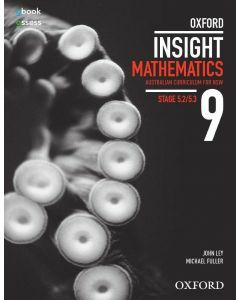 Oxford Insight Mathematics 9 5.2/5.3 AC for NSW Student Book + obk/as