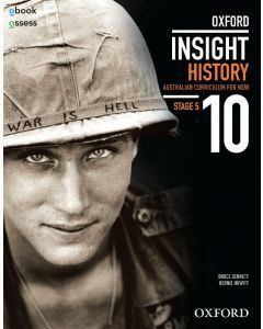 Oxford Insight History 10 AC for NSW Student book + obook assess