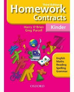 Homework Contracts Kindergarten Third Edition (NSW)