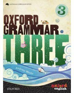 Oxford Grammar 3 Australian Curriculum Edition
