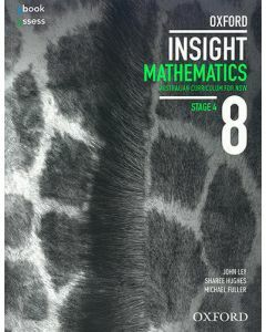 Oxford Insight Mathematics 8 AC for NSW Student Book + oBk/as