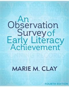 An Observation Survey of Early Literacy Achievement (4th Edition)