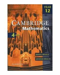 Cambridge Mathematics 4 Unit Year 12 Digital (Access Code)