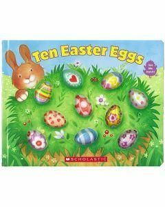 Ten Easter Eggs Board Book