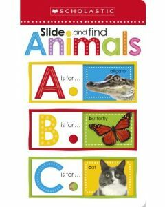 Slide and Find Animals ABC Board Book