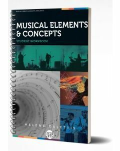 Musical Elements & Concepts: Aural Skills Student Workbook (Print & Digital)