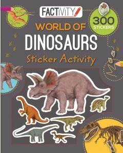 Balloon Sticker Activity Book - Dinosaurs (Ages 3+)