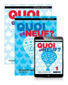Quoi de Neuf? 1 Student Book, eBook and Activity Book 2ed