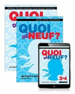 [Pre-order] Quoi de Neuf? 3+4 Student Book, eBook and Activity Book 2ed [Due Dec 2019]