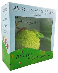 Where is the Green Sheep? Hardcover Book & Toy
