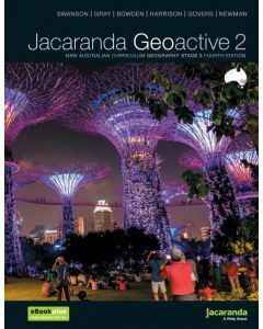 Jacaranda Geoactive 2 NSW AC Edition Stage 5 Print & Digital