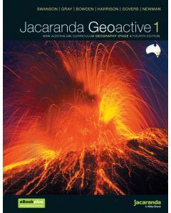Jacaranda Geoactive 1 NSW AC Edition Stage 4 Print & Digital