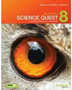 Jacaranda Science Quest 8 for the Australian Curriculum 3E learnON & Print
